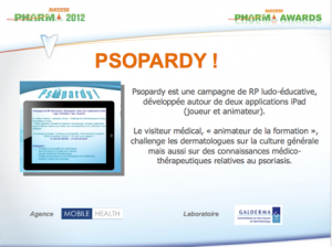 Un PharmaSuccess Award pour MOBILE HEALTH !